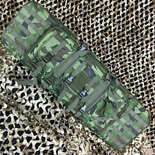 "NEW Gen X Global Tactical 42"" Paintball Airsoft AR15 Dual Rifle Gun Bag - Camo"