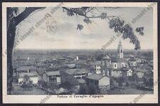 NOVARA CAVAGLIO D'AGOGNA 08 Cartolina viaggiata 1943 Foto DOLCI NOVARA