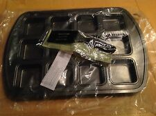 Pampered Chef Brownie Pan With Mini Nylon Serving Spatula Both New In Package