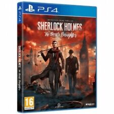 Sherlock holmes the devil's daughter PS4 game brand new
