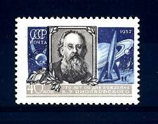 URSS - RUSSIA - 1957 - In onore di K.E. Ziolkowski (1857-1935)
