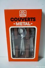 Couverts Metal Jouet Dinette Vintage / Coqueval [ Neuf ]