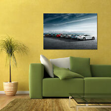 PORSCHE 911 HISTORY TIMELINE GENERATIONS LARGE AUTOMOTIVE HD POSTER 24x36in