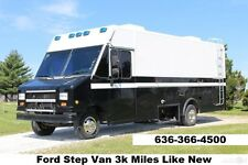 Step Van Food Truck RV Concession Ice Cream Truck Cargo Motor Home truck Mobile