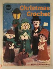 Christmas Crochet - American School of Needlework - 7383 - 10 Patterns