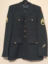 US ARMY Military Dress Green Mens Coat 39R Great Condition
