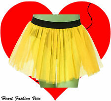 Plus Size Yellow tutu skirt Bumble Bee Fancy Costume party Halloween Christmas