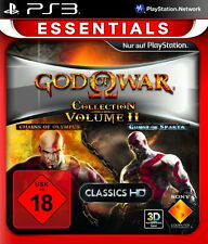 God of War Collection: Volume II -- Essentials (Sony PlayStation 3, 2013, DVD-Bo