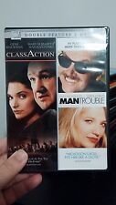 Class Action/Man Trouble (DVD, 2006, 2-Disc Set, Double Feature) - Free Shipping
