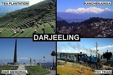 SOUVENIR FRIDGE MAGNET of DARJEELING INDIA