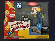 Playmates The Simpsons World of Springfield Police Station Environment