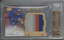 TITUS YOUNG 2011 EXQUISITE RPA 3 COLOR PATCH AUTO RC #D /135 BGS 9.5 w/ 10 AUTO
