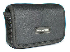 Genuine Olympus Neoprene Camera Case for Tough TG Range Belt Loop Card Pockets