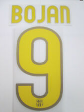 Bojan no 9 Barcelona Home Football Shirt Name Set Kids Youth