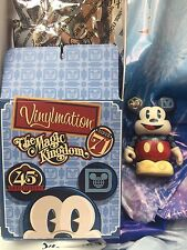 Disney Vinylmation 45th Anniversary Magic Kingdom, Mickey Regular L.E 2250!