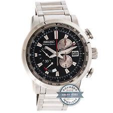 Seiko Grand Seiko Spring Drive GMT Chrono LE SPS003 Steel Mens Bracelet Watch