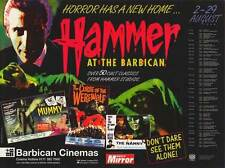 HAMMER FILM PRODUCTIONS LIMITED Movie POSTER 11x17