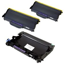 2PK TN360 + 1PK DR360 Toner and Drum Combo For Brother HL-2140 DCP-7030 7040