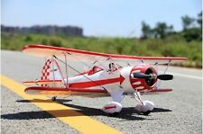 FMS 1030MM Waco Red RC Bi-Plane PNP No Radio