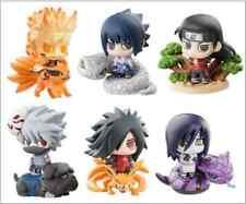6pcs Naruto Shippuden Uzumaki Naruto Uchiha Sasuke Obito Itachi figure Set