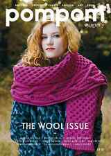Pompom Quarterly 14 Autumn 2015: Wool Inspired Knit & Crochet Patterns