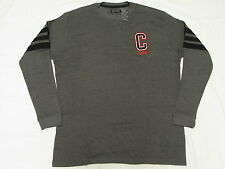 $55 NWT Mens Coogi Thermal Crewneck Shirt Tee Charcoal Embroidered 4X 4XB L065