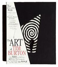 ART OF TIM BURTON ~ NEW & SEALED DELUXE LTD ED   1000 ~ HAND SIGNED LITHO & BOOK