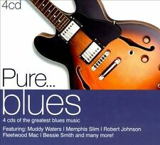 Pure... Blues [Digipak] by Various Artists (CD, Jun-2011, 4 Discs, Sony Music)