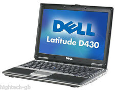 "Dell Latitude D430 12.1"" Intel Core 2 Duo 2 GB Ram 80 GB HDD DVD Windows7 Laptop"