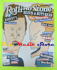 ROLLING STONE USA MAGAZINE 663/1993 Beavis & Butt-Head PJ.Harvey P.Gabriel No cd