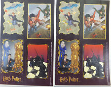 Harry Potter 4 Story Scenes Stickers 2 Sheets 1 Package