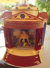 2001 MR. CHRISTMAS GOLD LABEL THE NUTCRACKER SUITE BALLET Animated WORKS