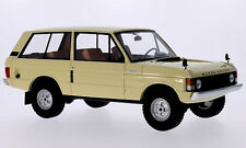 wonderful modelcar RANGE ROVER SUFFIX A 1970 - beige - scale 1/18 - lim.edition