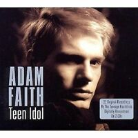 Adam Faith Teen Idol 2-CD NEW SEALED Remastered What Do You Want?/Poor Me+
