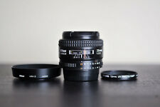 Nikon AF 35mm F2 D Prime FX Lens w/ Tiffen UV Filter!