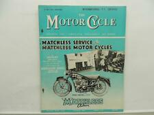 May 1954 THE MOTORCYCLE Magazine Matchless Clubman L8415