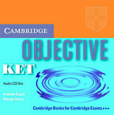 Objective KET Audio CD Set (2 CDs), Sharp, Wendy, Capel, Annette, Very Good cond