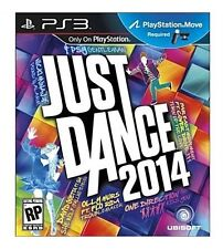 JUST DANCE 2014 PS3 MOVE NEW! KATY PERRY, PITBULL, NICKI MINAJ, JUSTIN BIEBER