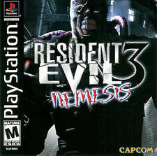 Resident Evil 3 Nemesis - PS1 PS2 Complete Playstation Game