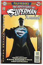 Adventures of Superman Annual #9 (1997 vf+ 8.5) 52 all-new complete stories