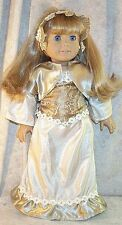 """Doll Clothes fit American Girl 18"""" inch Steampunk Ensemble 4 pcs Gold Sliver NEW"""