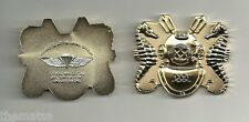 NAVY DEEP SEA DIVER TO THOSE WHO DO IT ALL DIVE JUMP DEMO GOLD  CHALLENGE COIN