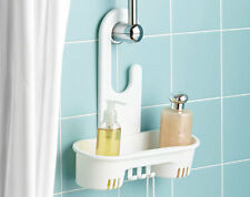 HANGING SHOWER SHELF * CADDY ORGANIZER HOLDER STORER BASKET TIDY HOOKS SHAMPOO