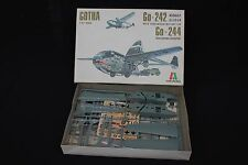 U966 Italaerei 1/72 avion GOTHA Go-242 assault glider Go-244 twin engined N°111