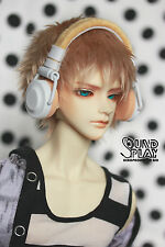 BJD Doll Dollfie Soundplay 1/3 Scale SD Headphones-Candy Orange Toy New Prop