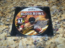 Blood Bowl Southpeak Games Worksop (PC, 2010) Game Windows (Near Mint)