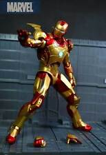New Avengers Iron Man 3 Mark 42 Action Figure Cute Version PVC Figures Toy