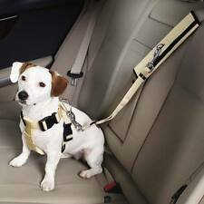 Tan Ride Right Seat Belt Connector - Dog Safety Travel - Attaches To Any Harness