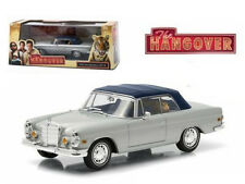 "1969 MERCEDES 280 SE DAMAGED WITH TIGER ""THE HANGOVER"" 1/43 GREENLIGHT 86462"