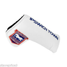 NEW IPSWICH FC BLADE PUTTER COVER + GOLF BALL MARKER